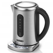 Электрический чайник Hermes Technics HT-EK904, серебристый