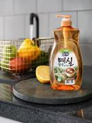 CJ LION Антибактериальное средство для мытья посуды Chamgreen (японский абрикос), 960 мл, CJ Lion