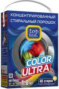 TOP HOUSE Концентрированный cтиральный порошок Color Ultra, 1,8 кг, TOP HOUSE