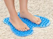Массажный латексный коврик для ног