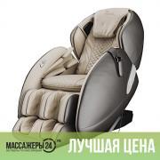 Массажное кресло CASADA AlphaSonic 2 Cream-Brown (АльфаСоник 2 Кремово-Коричневый)