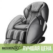 Массажное кресло CASADA AlphaSonic 2 Grey-Black (АльфаСоник 2 Серо-черный)