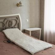 Массажный матрац с меховым чехлом и пультом управления Massage Mat (Белый)