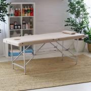Массажный стол / кушетка НьюФейс Оптима бежевый