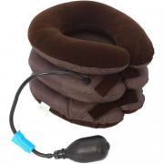 Массажная подушка, надувная для шеи и спины