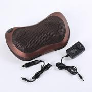 CBTX Массажная роликовая подушка-массажер для шеи и поясницы с 8 головками