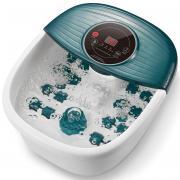 Гидромассажная ванночка MaxKare XKAM-SPA18 для ног с теплом, пузырьками и вибрацией/ цвет зеленый