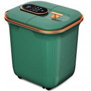 Le er kang LEK 818F Умная гидромассажная ванночка с акупрессурным массажем 2 в 1, Идеальная глубина на 400 мм, Инновационная и безопасная система разделения воды и электричества, Постоянная температура 38-45 градусов. (зеленый)