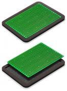 Аппликатор Кузнецова металломагнитный на мягкой подложке 15х22см полиметаллический, зеленый ММ28