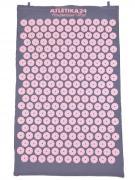 Массажный акупунктурный коврик, лилово-розовый (Atletika24, Атлетика24).