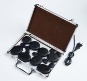 Beauty Star Набор камней для стоунтерапии 16 шт в кейсе с нагревателем