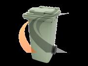 Контейнер для мусора 120 л.