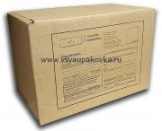 Коробка почтовая бурая с бланком, тип Е №1 265x165x50