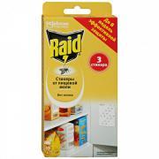 Raid Средство инсектицидное стикеры от пищевой моли 3 шт.