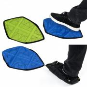 Автоматические многоразовые бахилы Automatic shoes covers for indoors