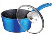 Ковш Meisterklasse 1.8л с крышкой Royal Blue Edition Metallic Line MK-1046