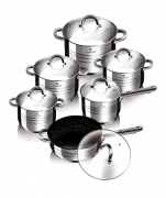 Набор посуды 12 пр. из нержавеющей стали Blaumann BL-3167