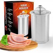 Ветчинница iSottcom из нержавеющей стали с термометром, для приготовления домашней ветчины и колбасы