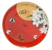 Таpелка Кpасные лилии Goebel N70676