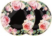 Набор из 2-х тарелок закусочных Винтаж (черный) Lefard A286254
