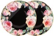 Набор из 2-х тарелок закусочных Винтаж (черный) Lefard A286255