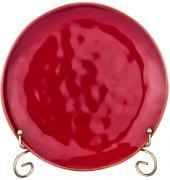 Тарелка закусочная Concerto (винный красный) Bronco A246543