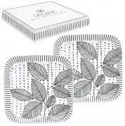 Набор из 2-х квадратных блюдец Organic collection Nuova R2S (Easy Life) MT305798