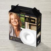 Набор тарелок Wilmax глубокие 22,5 см 2 штуки от Юлии Высоцкой в подарочной упаковке