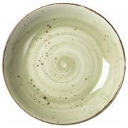 Тарелка для пасты PETYE RUSTICS JADE, 25,5 см., цвет зеленый