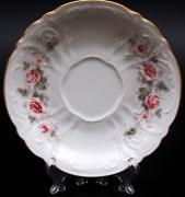 Набор из 6-ти блюдец Роза серая Bernadotte B311523
