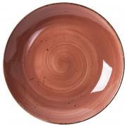Тарелка для пасты PETYE RUSTICS TERRA COTTA, 25,5 см., цвет терракот