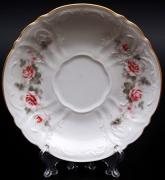 Набор из 6-ти блюдец Роза серая Bernadotte B311526