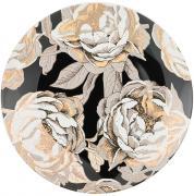 Тарелка десертная Golden rose (черная) Lefard A268054
