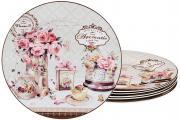 Набор из 6-ти десертных тарелок Прованс Ароматик Lefard S190350
