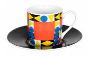 Кофейная пара эспрессо Баухаус квадрат Koenitz