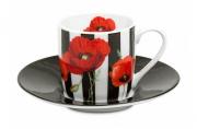 Кофейная пара эспрессо Madame Petite - полосы Koenitz