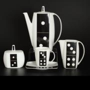 Кофейный сервиз Thun / Домино eye / 17 предметов на 6 персон