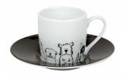 Кофейная пара эспрессо Забавные собаки Koenitz 11 5 053 2076