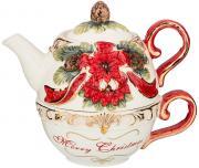Чайный набор Christmas (чайник и чашка) Lefard A269414