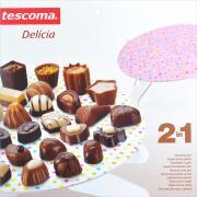 """Подставка для торта Tescoma """"Delicia. Горошек"""", цвет: розовый, диаметр 28,5 см"""