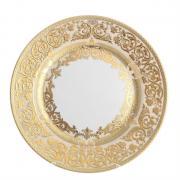Блюдо круглое Falkenporzellan / Natalia creme Gold / 32 см (6 шт)