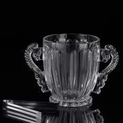 Ведёрко для льда с щипцами «Пекин», 1,2 л, 23,5x14x15,5 см