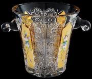 Ведёрко для льда Хрусталь с золотом Aurum Сrystal RM134524