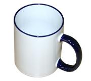 Кружка для сублимации Bulros белая синей ручкой и ободком (36 шт) TP-R-cup-B_GR-___-036-Wi