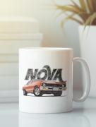 Aksisur Кружка с автомобилем Шевроле, Нова (Chevrolet, Nova) белая 008