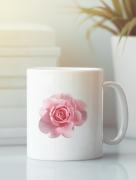 Aksisur Кружка с изображением Цветы (Розы) белая 002