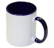 Кружка для сублимации Bulros белая с синей ручкой и внутри (36 шт) TP-R-cup-B_GI-___-036-Wi
