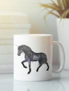 Aksisur Кружка с изображением Единорог (Unicorn) белая 0054
