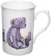 Кружка Мишка Тедди с заплатками BL280047