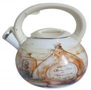 Чайник эмалированный со свистком Mercury, 3,5 л. MC-6559